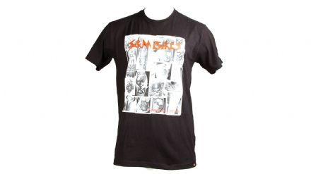 S&M Behind The Shield T-Shirt Black Small